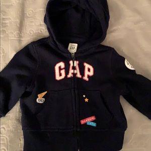 Baby boy zip hoody
